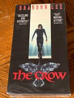 NEW The Crow (VHS, 1993) Brandon Lee, Vampires, Super RARE OOP, Fast FREE Ship