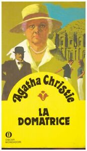 (Agatha Christie) La domatrice 1981 Mondadori Oscar gialli 74 1357