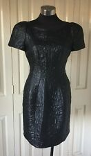 Stunning Cue Black Dress, Size 12