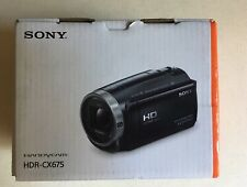 New Sony HDR-CX67 Handycam 32GB Internal Memory - Black (HDRCX675)