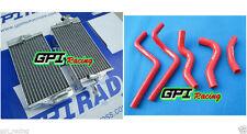 FOR HONDA CR 125 R/CR125R 2002 2003 ALUMINUM RADIATOR&SILICONE HOSE