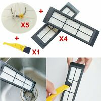 For XiaoMi Robot Vacuum Cleaner Washing HEPA Filters +Side Brush+Cleaning Brush
