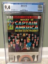 What If #26 Marvel Comics CGC 9.4 Captain America Had Been Elected President !!