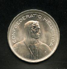 1969 - LOTTO/M14666 - SVIZZERA - 5 FRANCHI ARGENTO