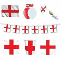 ENGLAND/ST. GEORGE - FLAGS BANNERS BALLOONS(Partyware){fixed £1 UK p&p}