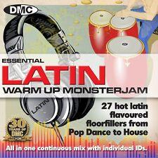 New DMC Warm Up Latin Monsterjam 1 DJ CD July 2013 Release Ivan Santana Megamix
