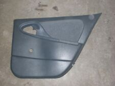 1995-2002 CHEVY CAVALIER RIGHT REAR DOOR PANEL GREY W/OUT POWER LOCK SWITCH