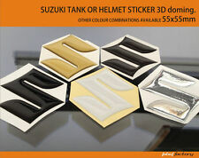 suzuki tank logo decal, label, sticker gsx r 3D carbon, mirr 10 colors