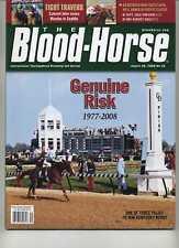 Blood Horse Death of Genuine Risk-Ginger Punch-Shakis