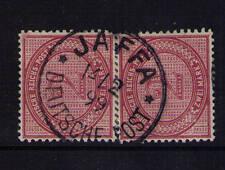Deutsche Post in der Türkei, Mi-Nr. V 37 e (2), seltene Entwertung