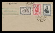 Iceland 1956 FDC, 900th Anniversary og the Bishopric of Skálholt. Lot # 6.