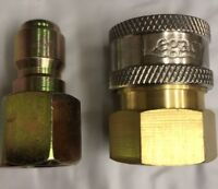 """3/8"""" Quick Connect Fittings for Pressure Washer Hose-New- Top Quality"""