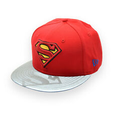NEW ERA SUPERMAN DC COMICS REFLECTIVE 9FIFTY STRAPBACK CAP
