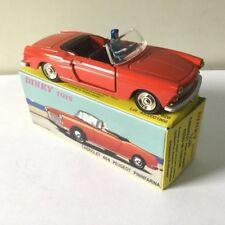 Dinky Toys 528 - PEUGEOT 404 Cabriolet Pininfarina rouge 1:43, Atlas