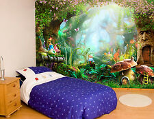 New listing Magic Forest Disney style Wallpaper Garden Wall Mural Photo Print Home for Kids