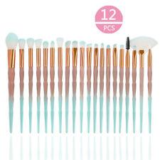 20PCS Diamond Make up Brushes Set Foundation Eyeshadow Eyeliner Powder Brusher