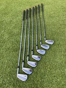 Nike Forged MB Blade Irons 2004 Tiger Woods Rare Dynamic Gold R300 4-PW