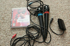 SingStar (Playstation 3) + 2 Microphones and USB Adapter