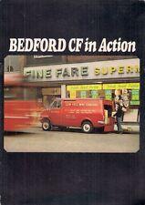Bedford CF Van 'In Action' 1970-71 UK Market Sales Brochure