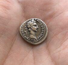 Lovely Roman Silver Denarius Nerva, Scarcer Emperor