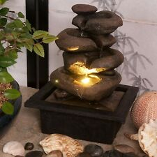 Indoor Water Fountain Zen Flow Claming Electric Mains Powered