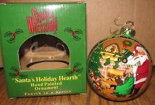 *John Deere Toy Tractor 2002 Christmas Ornament Santas Holiday Hearth 4th Series