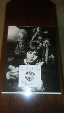 Rolling Stones 1972  Mick Jagger Poster Rare Perfect m & judi Weinstein. Origina