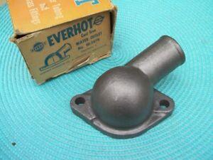 NORS Everhot Studebaker Checker Chevrolet CAST IRON WATER OUTLET W-1479