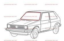 VW GOLF MK1 BERLINA E CABRIOLET JETTA GUARNIZIONE PARABREZZA FRONT WINDOW SEAL