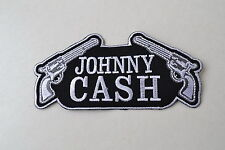 Johnny Cash, patch, écusson, aufbügler, country, rock, rockabilly, the Man in Black