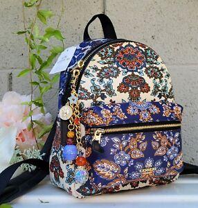 NEW w/tags COACH 11809 mini Charlie forest flower print backpack purse handbag