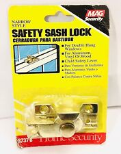 Safety Sash Lock Doors And Windows Lock Sash Jammer Narrow Style 8737-B