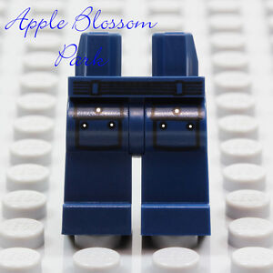 NEW Lego Minifig Dark BLUE POCKET JEAN LEGS - Police Minifigure Belt Pants Lower