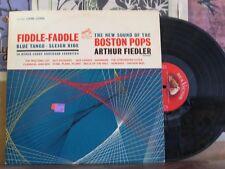 FIDDLE FADDLE BOSTON POPS - SHADED DOG LP LSC-2638