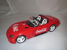 """UMBAU  Dodge  Viper  RT/10  """"Coca Cola""""  1:18 ohne Verpackung !"""