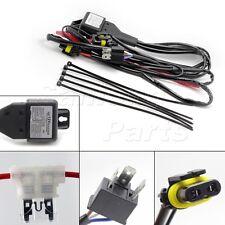 Car HID Xenon Hi/Lo Headlight H4 9003 Bulbs Relay Fuse Cable Wiring Harness 35W