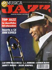 JAZZ 1 1995 J.J. Johnson Lalo Schifrin Julius Hemphill Buddy Bolden Carmen McRae