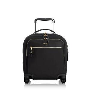 NEW TUMI  Osona Compact Nylon Carry-On Bag Black Gold