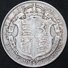 1914 | George V Half-Crown | Silver | Coins | KM Coins