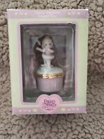 Vintage 2000 Precious Moments Ballerina Figural Porcelain Hinged Box New