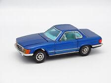 Corgi Toys SB 1/43 - Mercedes 350 SL Azul