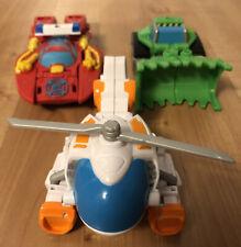 Playskool Transformers Rescue Bots Lot Heatwave Blades Dozer
