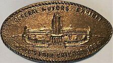 General Motors Exhibit, 1934 Worlds Fair, Ill-Cpie 25, Rarity 3, 1917D host coin