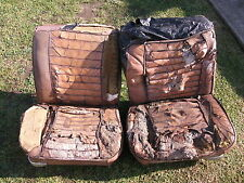 PAIR OF PREMIER FRONT BUCKET SEATS SUITS EJ EH HOLDEN GENUINE CORRECT