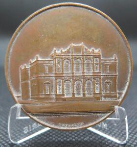 0095 - MÉDAILLE CONSERVATOIRE DE MUSIQUE DE GENÈVE - bronze - S. Mognetti