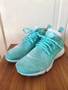 Nike Wmns Air Presto Flyknit Ultra Damen Sneaker Türkis Gr. 37,5 Hellblau