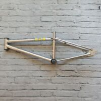 Vintage 80s GT Mach One BMX Frame Old Mid School Cromoly Bicycle Bike Freestyle