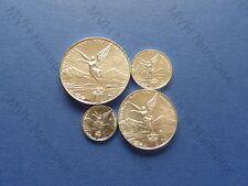 Mexiko Mexico 2001 Libertad 1/2 1/4 1/10 1/20 Oz Silber Silver Plata Pura selten