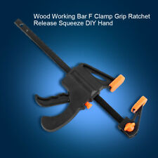 Adjustable 7.5inch F Woodworking Clip Quick Grip Clamps Wood Carpenter Vice Tool