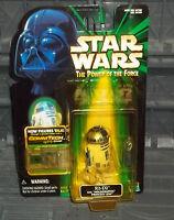 STAR WARS POTF SERIES COMMTECH R2-D2 W HOLOGRAPHIC LEIA  FIGURE